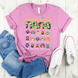 Namashops Personalized Blessed To Be Called Nana Bee Art, Custom Names Shirt