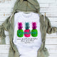 Grandma Summer Pineapple, Custom Names Shirt