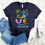 Namashops Personalized Love Grandma Life Beach Shirt