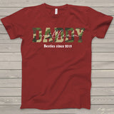 Namashops Personalized Daddy And Kid New, Custom Names Shirt