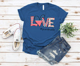 Namashops Personalized Love Grandma Life New Independence Day Shirt