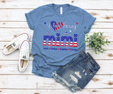 Namashops Personalized I Love Being Mimi, Independence Day Shirt