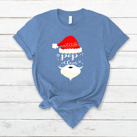 Pop Claus Xmas Red Hat