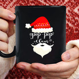 Pop Pop Claus Xmas Red Hat