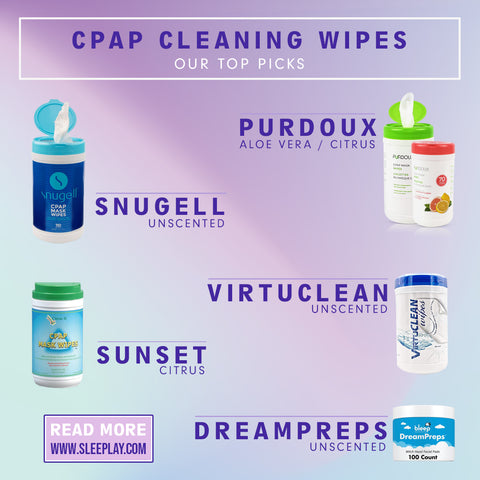Our Picks For Our Favorite CPAP Cleaning Wipes