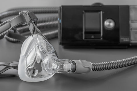 ResMed Airsense 10 Auto CPAP machine with CPAP mask