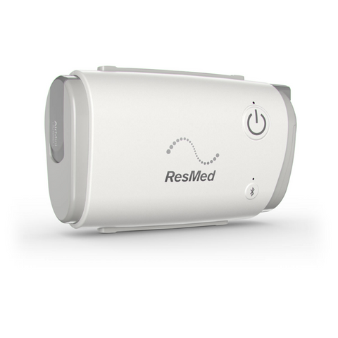 A photo of the RedMed AirMini CPAP machine