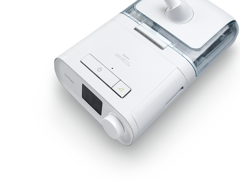A photo of the Philips Respironics DreamStation CPAP machine