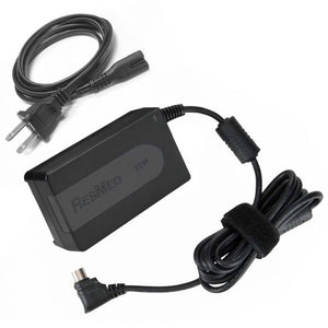 Black AC Power Supply by ResMed to plug in with S9 CPAP Machine.