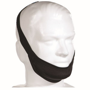 Black Adjustable Premium Regular Chinstrap by AG Industries.