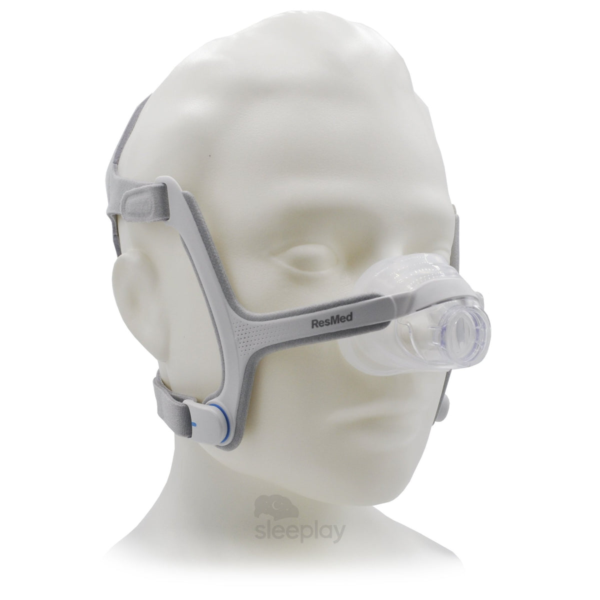 AirFit N20 Nasal CPAP Mask On Mannequin.