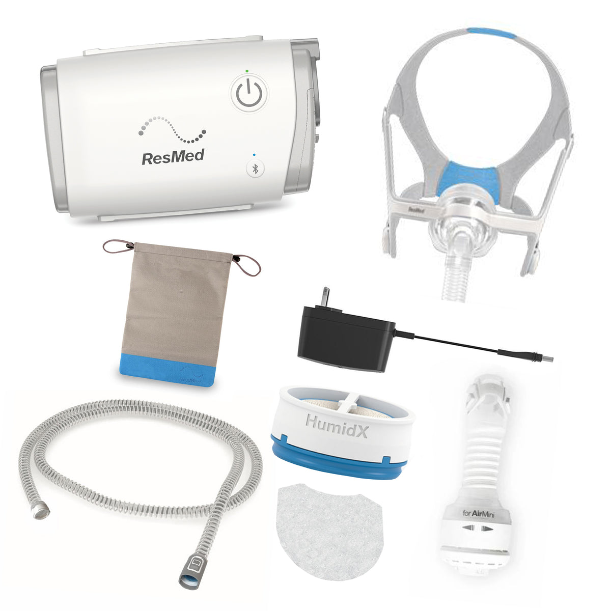 AirMini Travel Bundle with AirTouch N20 CPAP Mask