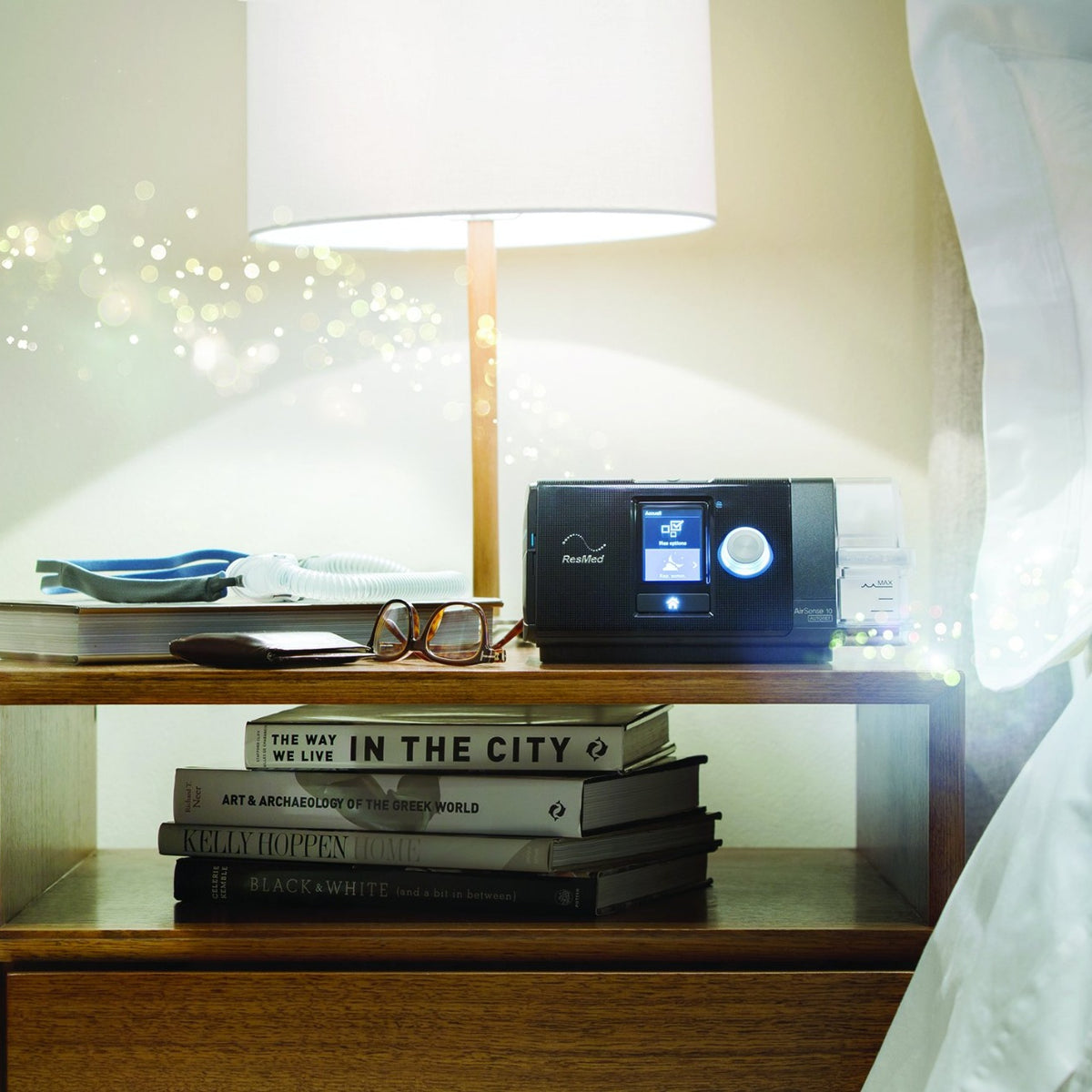 Airsense 10 on nightstand.