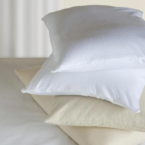 Collection of white pillows from Bucky.