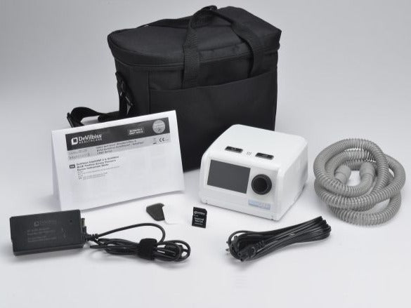 Included elements in package of IntelliPAP 2 AutoAdjust Auto-CPAP Machine Package
