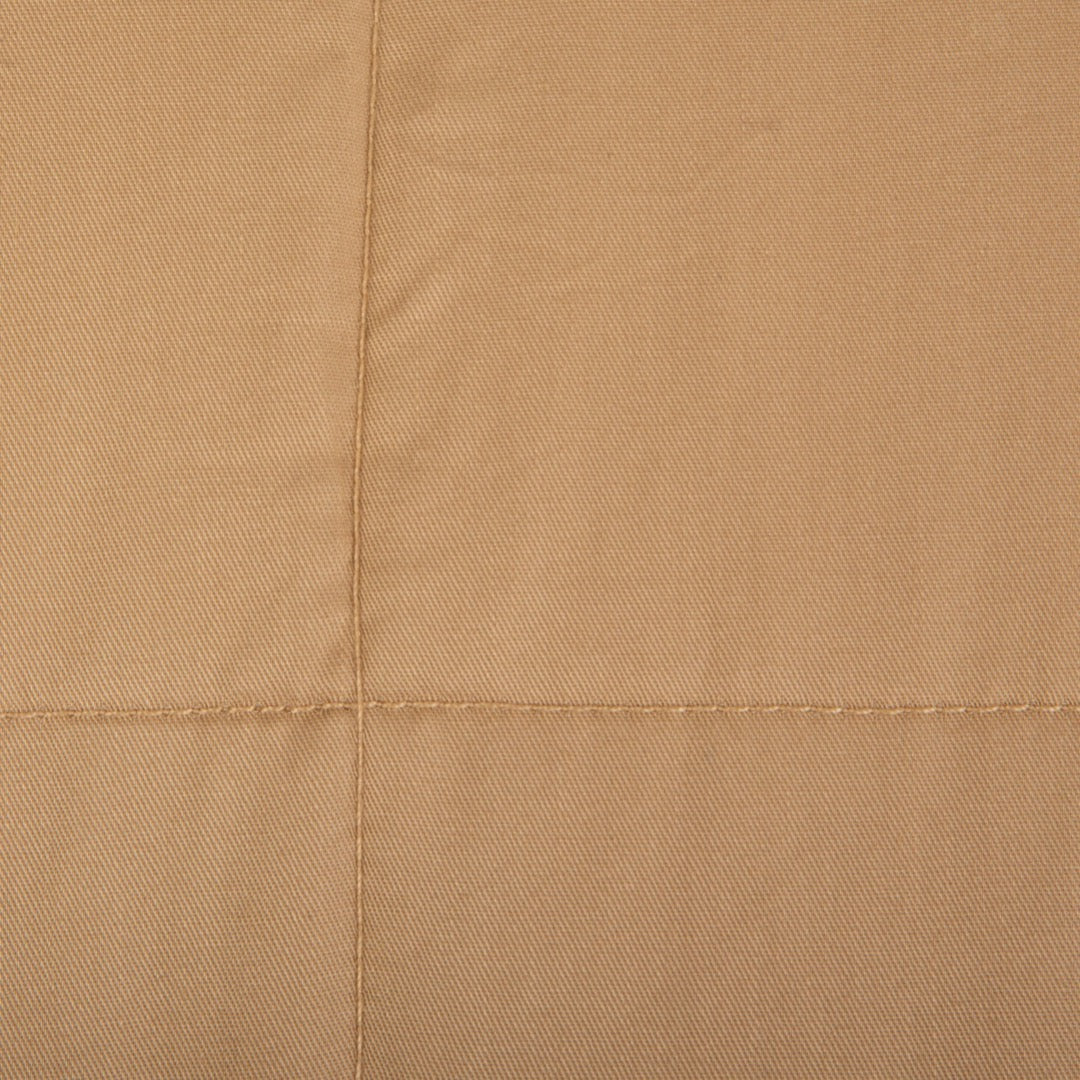 "Closeup view of 41"" x 60"" Weighted Blanket Taupe"