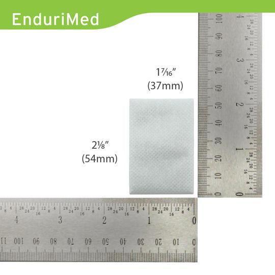 Size of the EnduriMed Filters.
