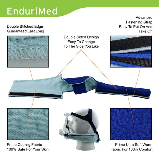Materials used in CPAP neck pad.