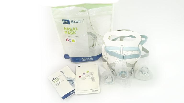 Packaging for Eson 2 Nasal Mask