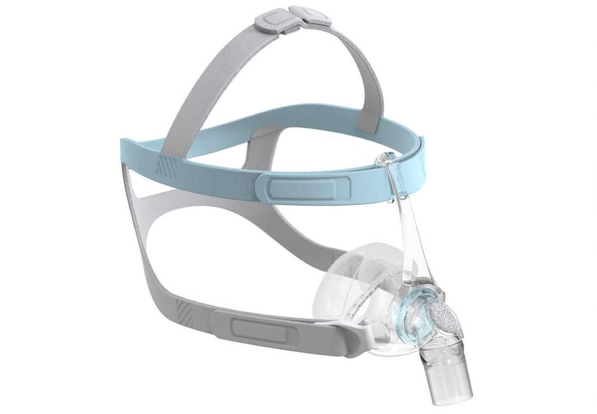 Fisher & Paykel's Eson 2 Nasal CPAP Mask full view from the side