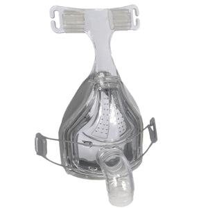 Isometric view of FlexiFit 432 Full Face Mask with glider strand and Without Headgear