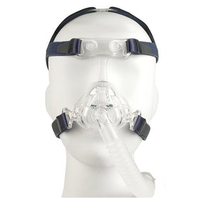 Front view of mannequin with Nonny Pediatric Mask Kit by AG Industries.