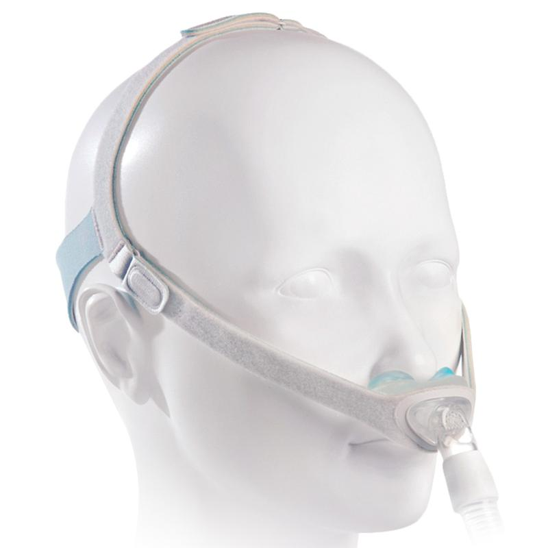 Demonstration of mannequin using the Nuance/Naunce Pro headgear