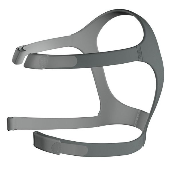 Side view of grey headgear for ResMed Mirage FX