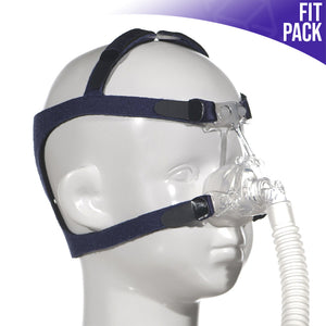 Side view of Nonny Pediatric Nasal CPAP Mask - Fit Pack.