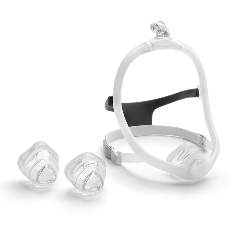 Fit Pack of DreamWisp Nasal Mask with headgear for Phillips Respironics.