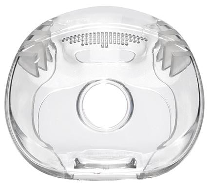 Phillips Respironics cushion for Amara full face mask top view