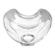 Phillips Respironics cushion for Amara full face mask side view