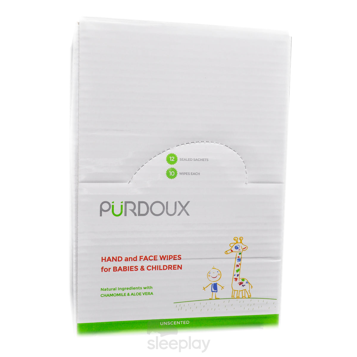 Box Of Purdoux Babies And Children's Wipes