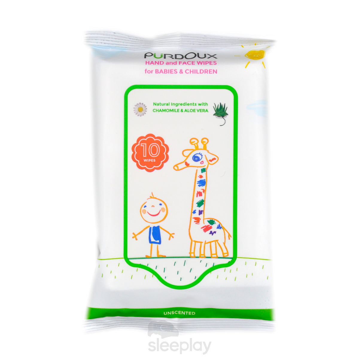 Single Bag Of Purdoux Babies And Children Wipes