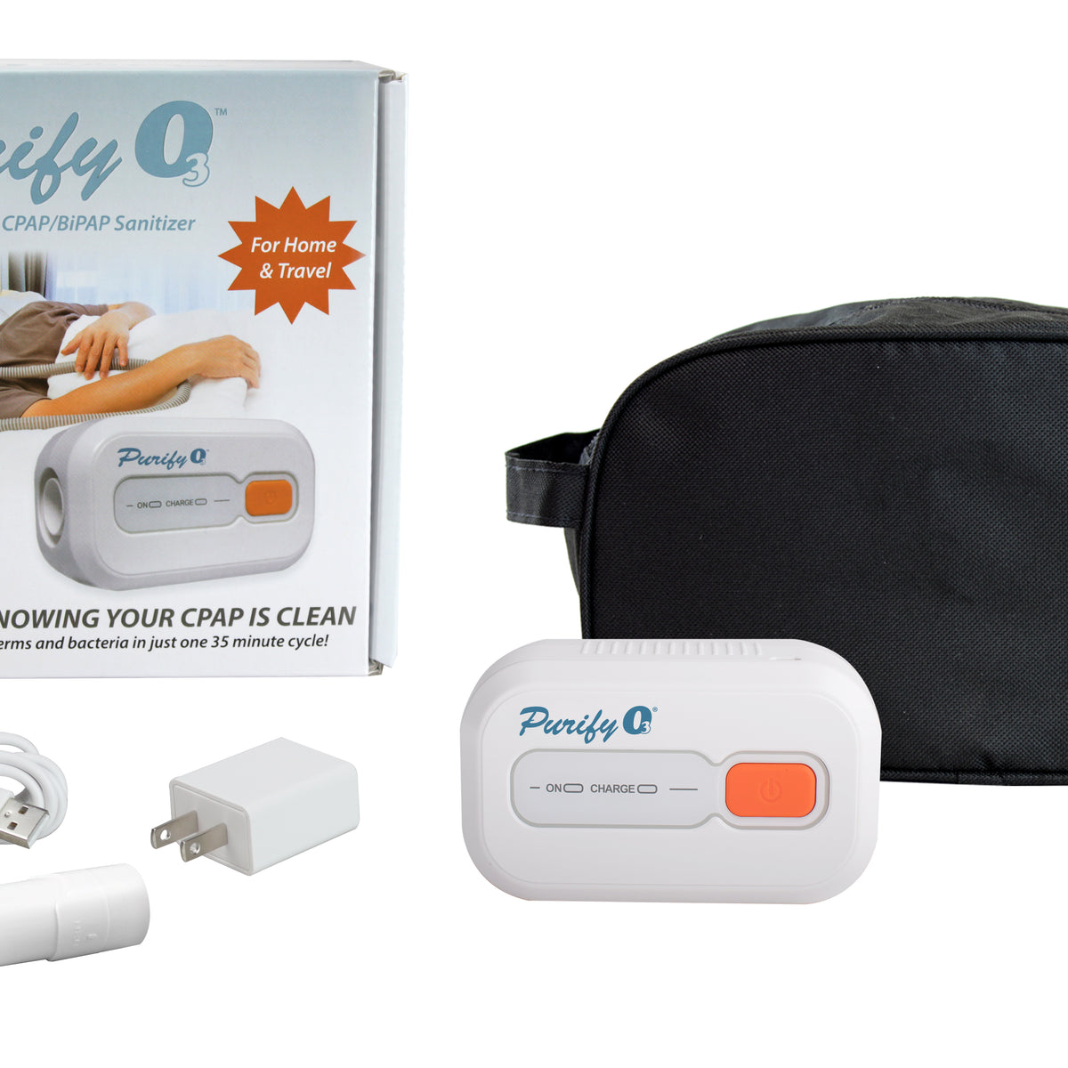 Purify O3 CPAP/BiPAP Cleaner Sanitizer Kit