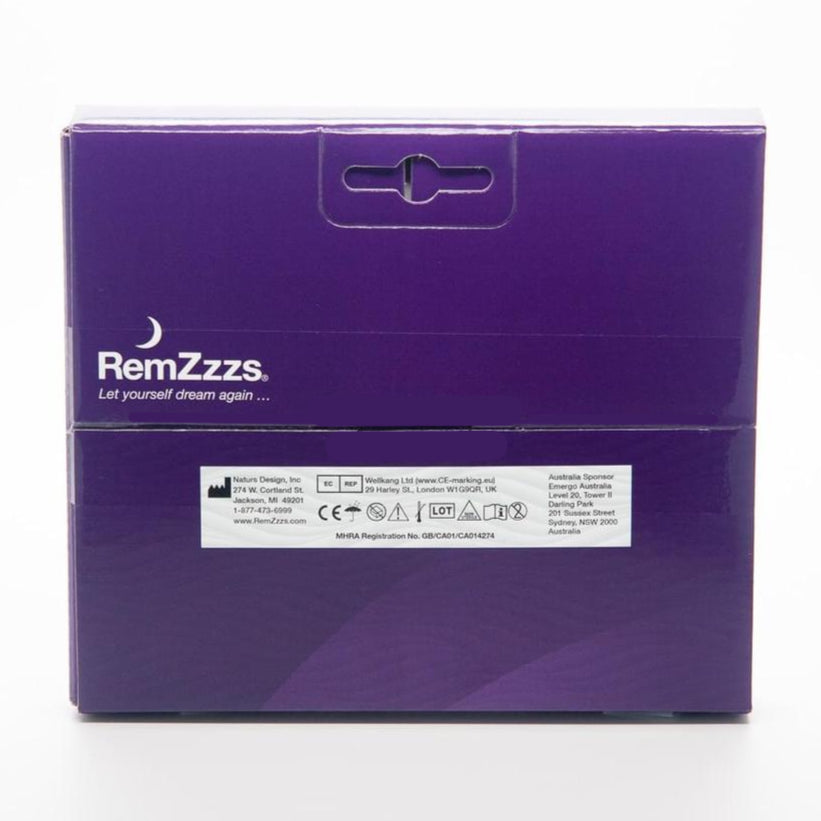 RemZzzs padded nasal mask minimal contact liner back view