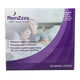 RemZzzs padded nasal mask minimal contact liner front view