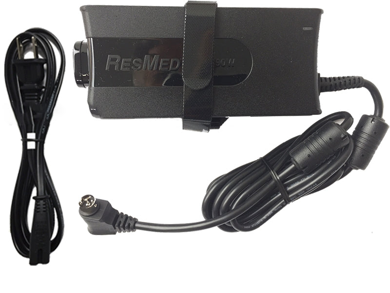 Resmed S9 Cpap Machine AC power supply it has 90 watt and comes with a cord