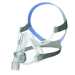 Resmed AirFit™ F10 complete mask on a white background