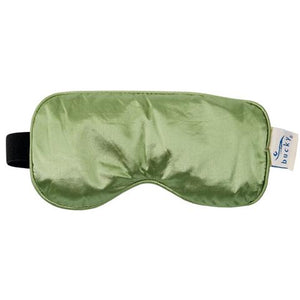 Front view of Serenity Spa Mask in sage color.