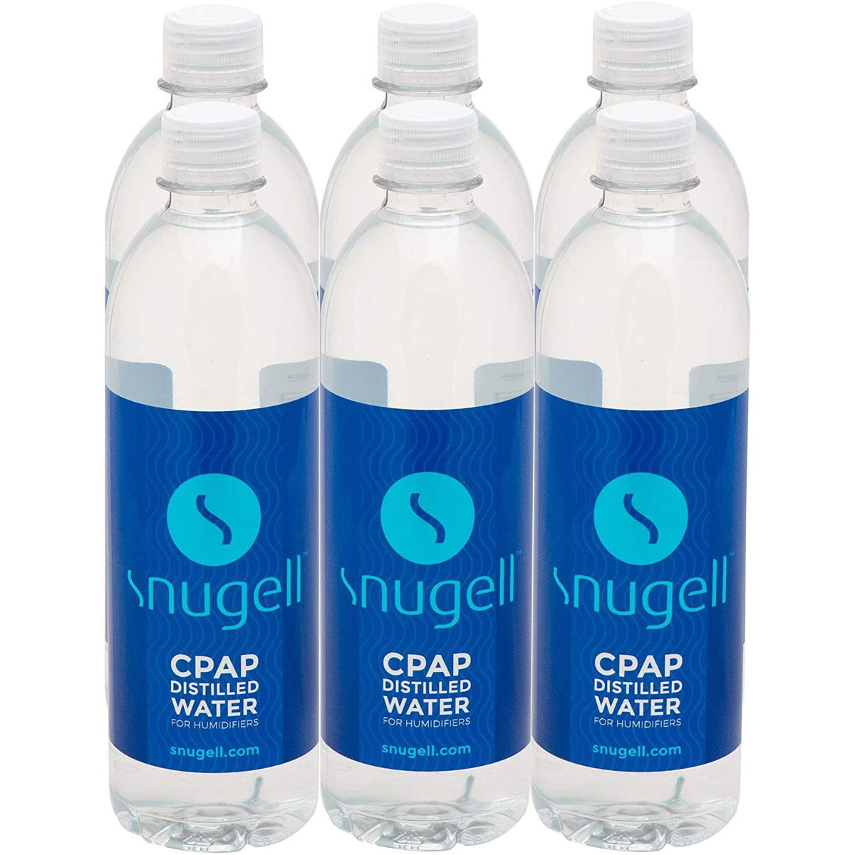 Snugell Distilled Water 6 pack.