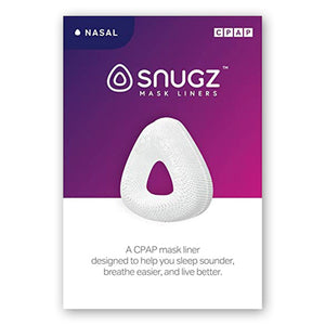 Box for Snugz Nasal Mask Liners.