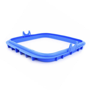 Front view of blue replacement lid gasket for SoClean Cleaner Machine.
