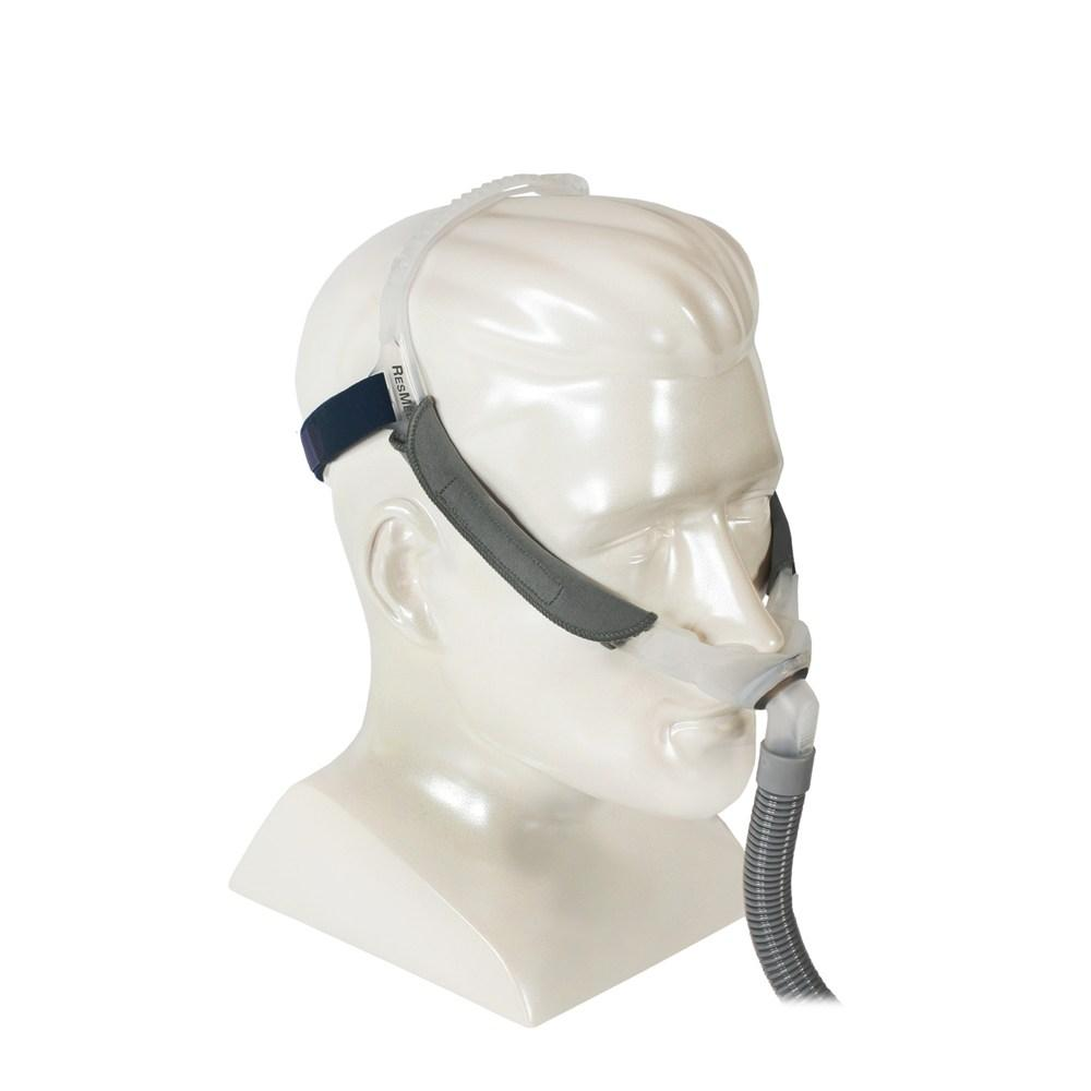 Right side view of Swift FX complete mask on mannequin.