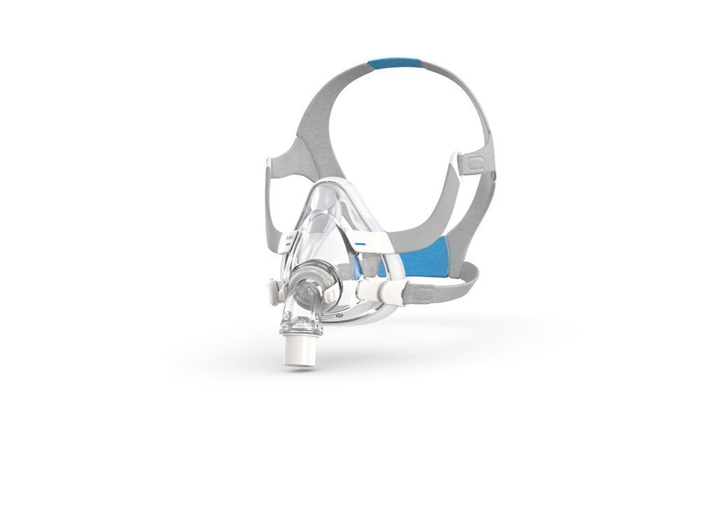 Right view of the full face mask airfit f20 with headgear
