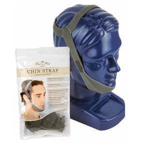Packaging for chin strap.
