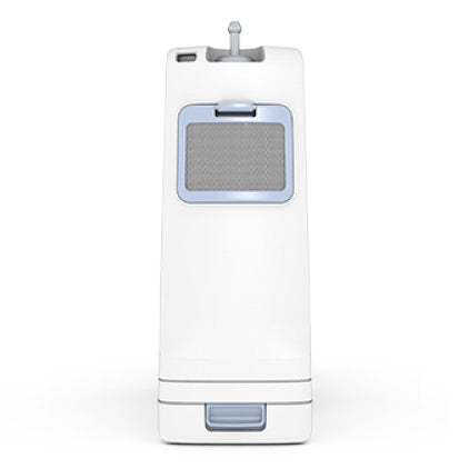 Inogen One G4 Portable Oxygen Concentrator Long Side View.