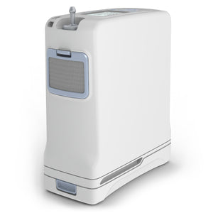 Inogen One G4 Portable Oxygen Concentrator Full View.