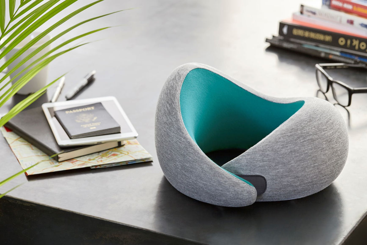 Neck Pillow On Table.