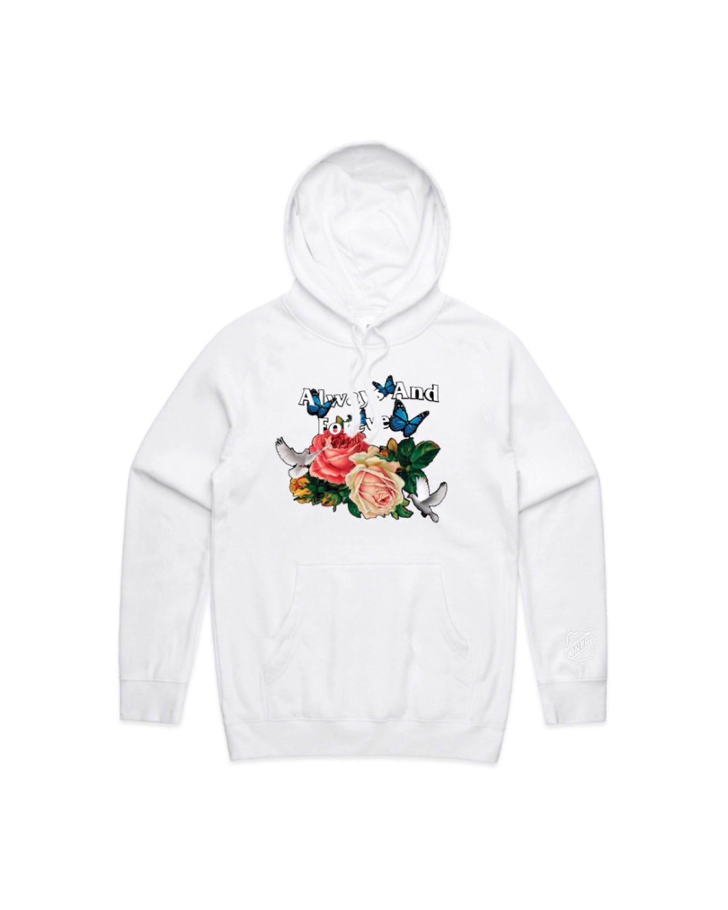 ALWAYS AND FOREVER HOODIE (WHITE)